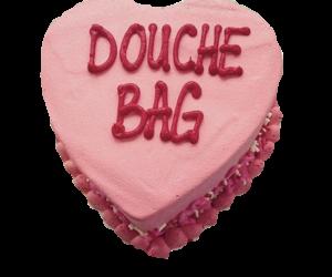 cake, douche bag, and pink image