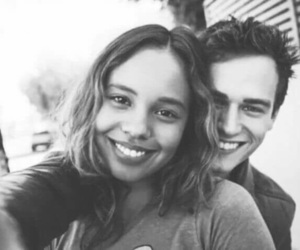 13 reasons why, justin foley, and couple image