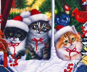 arte, cats, and cute image