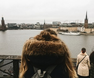 hair, sweden, and travel image