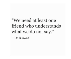 quotes, couple, and friendship image