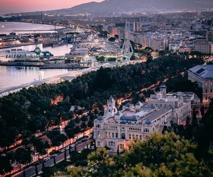 Malaga, spain, and instagram image