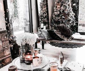 christmas, decor, and food image