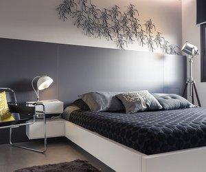 кровать, спальня, and дизайн спальни image