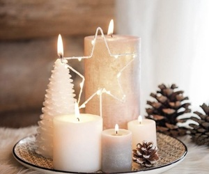 candle and christmas image