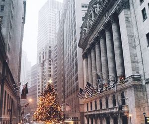 christmas, holidays, and new york image