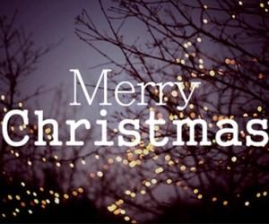christmas, merry christmas, and light image