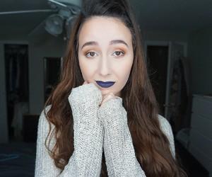 christmas, lipstick, and makeup image