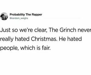christmas, grinch, and jim carrey image