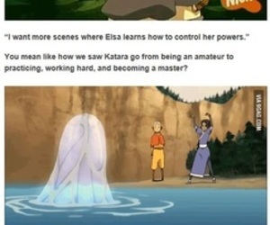 avatar, aang, and water tribe image