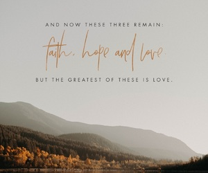 faith, love, and bible image