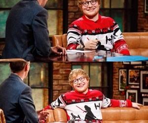 christmas and ed sheeran image