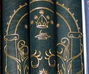 book, tolkien, and lord of the rings image