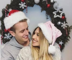 christmas, merry christmas, and together image