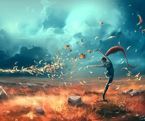 art, Sagittarius, and fantasy image