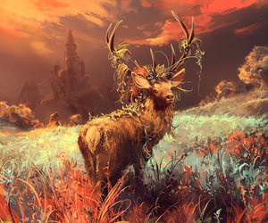 antlers, art, and artist image