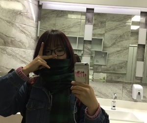 army, asian girl, and depressed image