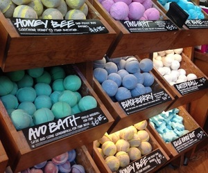 lush, tumblr, and bath image