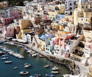 Island, italy, and photography image