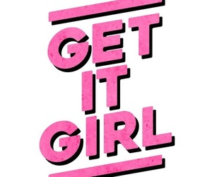 pink, quotes, and girl power image