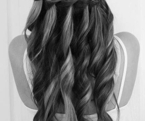curls, hair, and pretty image
