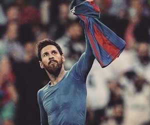 real madrid, messi, and clasico image