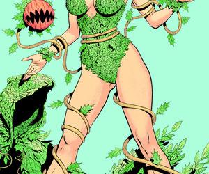 mine, poison ivy, and dc comics image