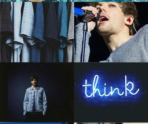 blue, birthay, and louis image