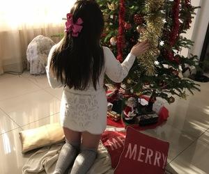 christmas tree, merry christmas, and christmas spirit image