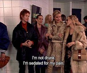 drunk, sex and the city, and quotes image