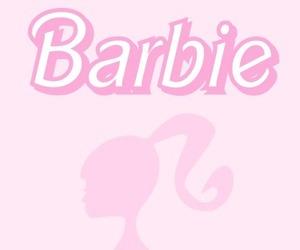 barbie, fondo, and pink image