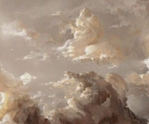 aesthetic, clouds, and beige image