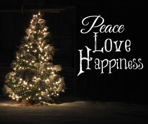 christmas, peace, and snow image