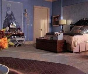 bedroom and gossip girl image