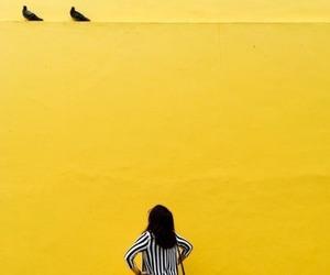 yellow and girl image