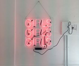 aesthetic, neon, and signs image