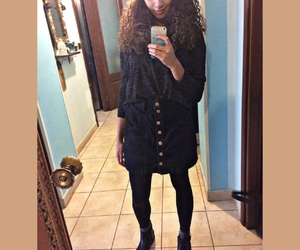 girl, mixed, and outfit image