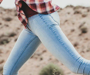 hollister, jeggings, and fashion image