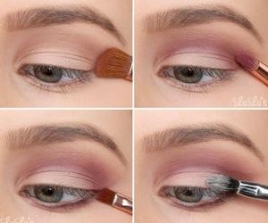 beautiful, makeup, and pink image