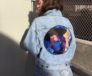 ️lorde, jeans, and hair image