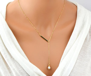 etsy, necklace, and lariatnecklace image