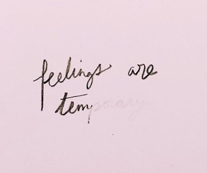 feelings, pink, and quotes image
