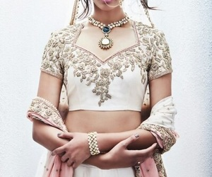 beauty, desi, and bride image
