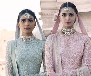 beauty, india, and lehenga image
