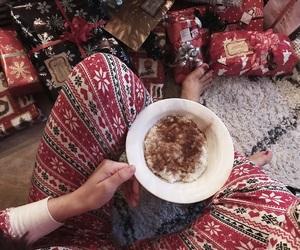 almond, breakfast, and christmas image