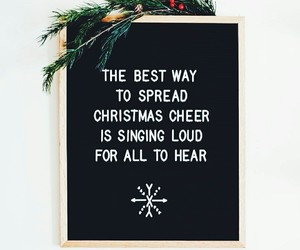 cheer, letterboard, and christmas image