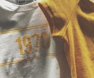 yellow, aesthetic, and 1970s image