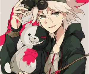 anime, danganronpa, and monokuma image