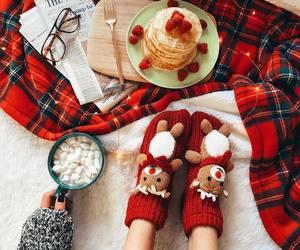 christmas, holiday, and food image