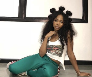 sza, hair, and beauty image
